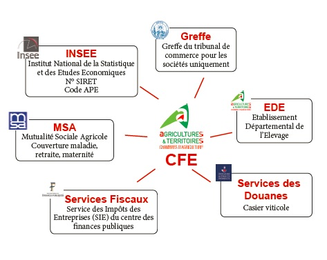 Centre de formalit s des entreprises chambre d 39 agriculture du gers - Chambre d agriculture du gers ...