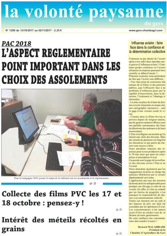 Nos derniers articles chambre d 39 agriculture du gers - Chambre d agriculture du gers ...